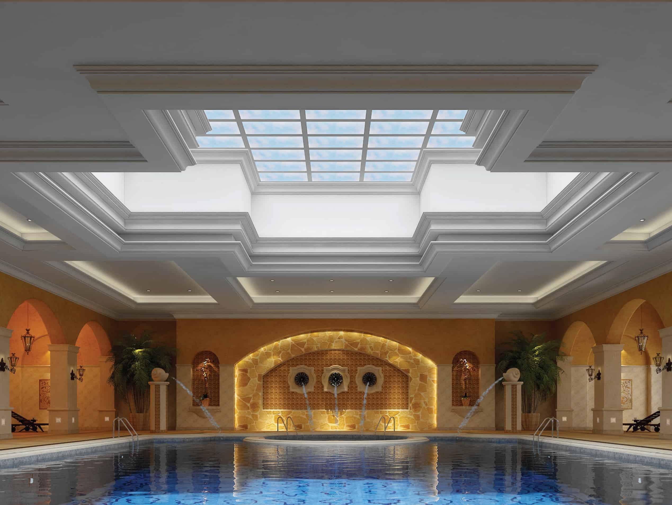 Hotel swim pool hi res