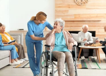 BENEFIT OF EXTRA DAYLIGHT IN NURSING HOMES